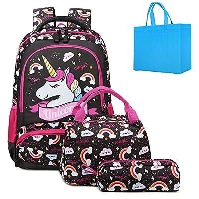 Mochila Unicornio Niña Mochila Infantil niña Mochila Escolar Niña Mochila Estudiantes Bolso para Chicas para La Escuela,Viajes,Intemperie