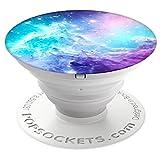 PopSockets PopGrip - [Nicht Austauschbarer] Ausziehbarer Sockel und Griff für Smartphones and Tablets - Monkeyhead Galaxy