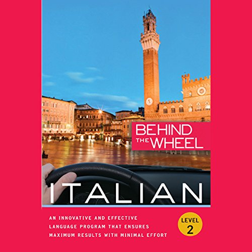 Behind the Wheel - Italian 2 audiobook cover art