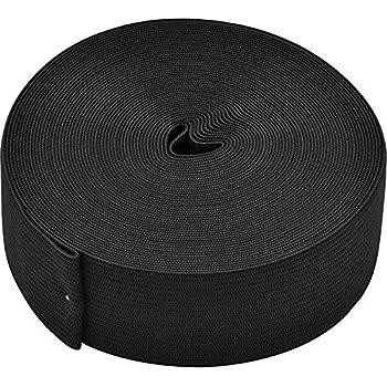 eBoot Elastic Spool  1.5 Inch x 11 Yard Black
