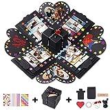 Erlliyeu Creativa caja sorpresa caja de explosión, regalo hecho a mano, álbum...