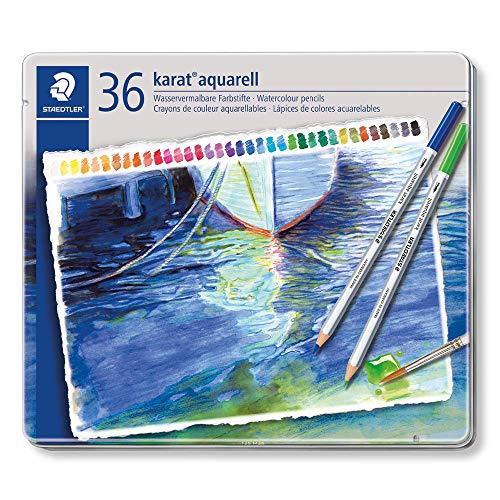 STAEDTLER(ステッドラー)『カラトアクェレル水彩色鉛筆36色セット』