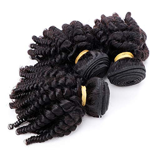 Afro curly hair weave _image4