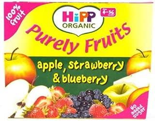 Hipp 4 Month Apple, Peach & Mango Pots 4 Pack 400g