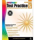 Spectrum Grade 5 Test Practice Workbook—5th...