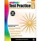 Spectrum Grade 5 Test Practice Workbook—5th Grade Math and English Language Arts Reproducible, Practice for Standardized Tests With Answer Key (160 pgs)