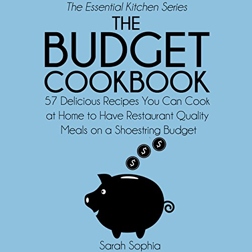 The Budget Cookbook audiobook cover art