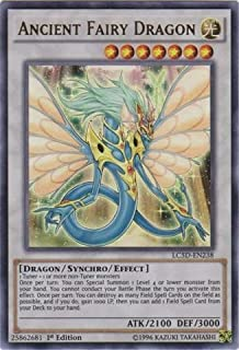 Yu-Gi-Oh! - Ancient Fairy Dragon (LC5D-EN238) - Legendary Collection 5D's Mega Pack - 1st Edition - Ultra Rare