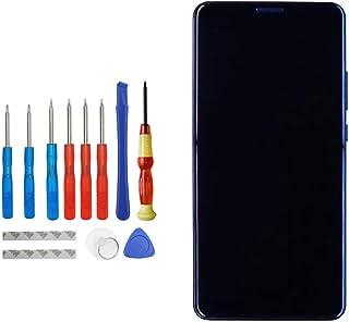 شاشة أوليد بديلة من أوبلس متوافقة مع هاتف هواوي ميت 10 برو 6 بوصة BLA-L09 BLA-L29 BLA-A09 شاشة لمس LCD مع إطار مع مجموعة أ...