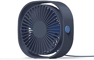 massager Mini Ventilador USB portátil, 3 Velocidad Ajustable, Ventilador de Escritorio con USB, Ventilador de Escritorio U...