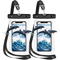 2 Pack ZFZ IPX8 Universal Waterproof Phone Pouch Dry Bag