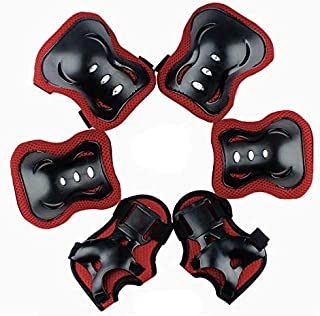 Leading Elbow and Knee Pads Set Wrist Guard for Kids Boys Girls -Thickened Design Skating Biking Bicycle Protective Gear -...