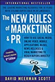 New Rules Of Marketing And Pr How To Us