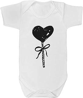 18-24 Month 'Heart Lollipop' Baby Grow / Bodysuit (GR00030918)