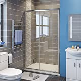 <span class='highlight'>1200mm</span> <span class='highlight'>Sliding</span> Shower <span class='highlight'>Door</span> Modern Bathroom Shower Enclosure Cubicles