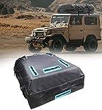 Bolsa para techo de coche, 109 x 86 x 43 cm, azotea del vehículo portaequipajes de carga, impermeable, para coche, SUV, furgoneta, para coche, universal, para equipaje y almacenamiento seguro