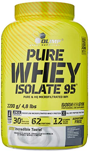 Olimp Labs Vanilla Pure Whey Isolate 95, 2.2kg