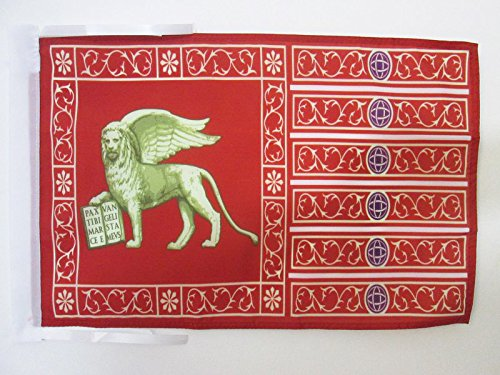 AZ FLAG Flagge VENEDIG 45x30cm mit Kordel - Venezia Fahne 30 x 45 cm - flaggen Top Qualität