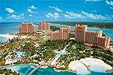 5D Diamante Bordado Decoración Del Hogar Atlantis Paradise Island Crystal Rhinestone, Para Decoración De La Pared Del Hogar Taladro Completo 30x40 CM
