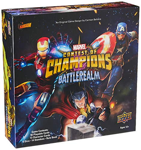 Upper Deck Marvel Contest of Champions: Battlerealm - English