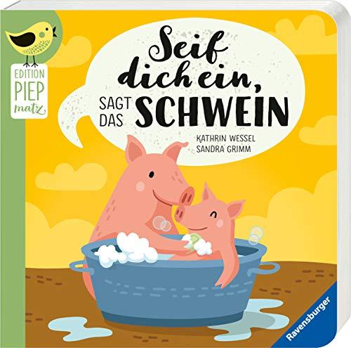 Buchseite und Rezensionen zu 'Seif dich ein, sagt das Schwein' von Sandra Grimm