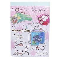 メモ帳[マジカルジュース]A6 ボリューム メモ ステッドファスト かわいい おもしろ雑貨 グッズ 通販