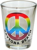 Peace - Daytona Beach Florida Souvenir Gift Shot Glass. PEACE. 1043DB
