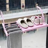 HyFanStr Tendedero extensible para radiador de ropa, toallero para...