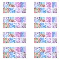 Frcolor 折り紙 両面 おりがみ 両面シート 正方形 ペーパー DIY 折紙 おしゃれ 千羽鶴 手芸紙 工芸美術 100枚(写真2)