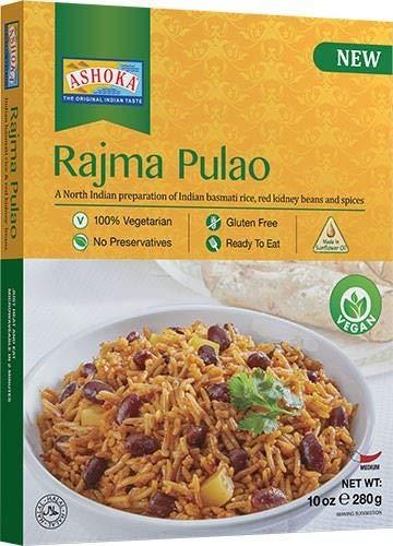Ashoka Rajma Pulao Basmati-Reis rote Kidneybohnen Gewürzt - 280g