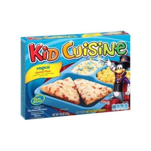 Kid Cuisine Magical Cheese Pizza Meal, 7.45 Ounce - 12 per case.