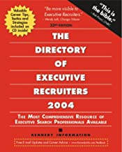 The Directory of Executive Recruiters with CDROM (Directory of Executive & Professional Recruiters)
