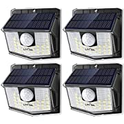 LITOM Lite 30 LED Solar Lights Outdoor, Wireless Easy to Install Motion Sensor Light with 270° Wide Angle, IP65 Waterproof Solar Security Light For Front Door, Yard, Garage, Garden, Patio, Deck-5 Pack
