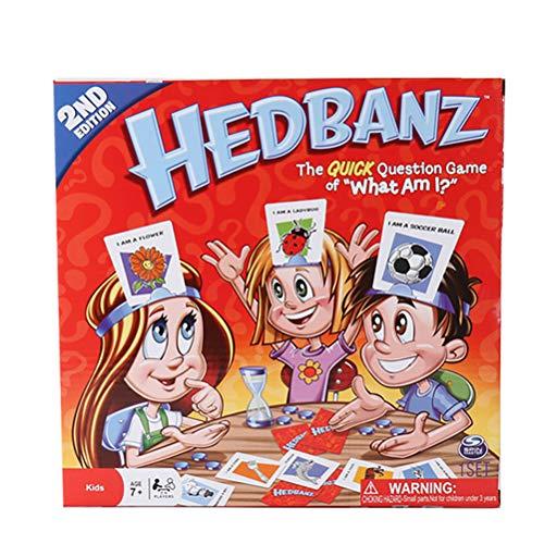 Hinder Qué soy yo, juego de cartas de adivinanzas, juego de fiesta...
