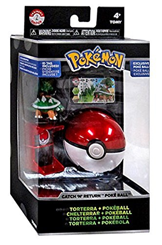 Pokemon Trainer's Choice Catch n Return Pokeball Torterra & Poke Ball Figure Set