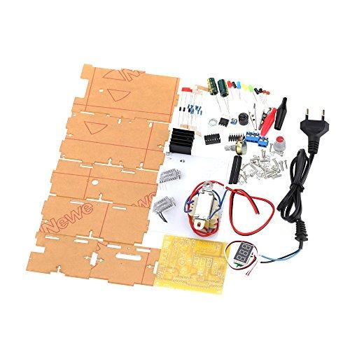 KKmoon LM317 1.25 v-12V tensione KKmoon LM317 1.25 v-12V Tensione Regolata Continuamente Regolabile Power Supply Kit Fai da te continuamente regolabile Power Supply Kit fai da te UE