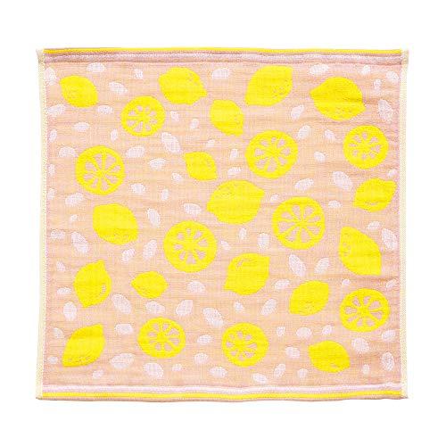 【今治タオル 認定】 ふきん Ag+ 抗菌 防臭 布巾 ディッシュクロス 食器拭き 日本製 (単品, レモンPI)