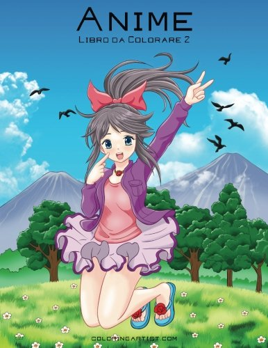 Anime Libro da Colorare 2