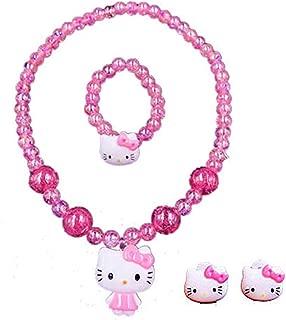 Kerr's Choice Hello Kitty Necklace Jewelry Hello Kitty Earrings | Hello Kitty Gift Set | Hello Kitty Accessories Girls Women Birthday Gift (Hello Kitty 2)