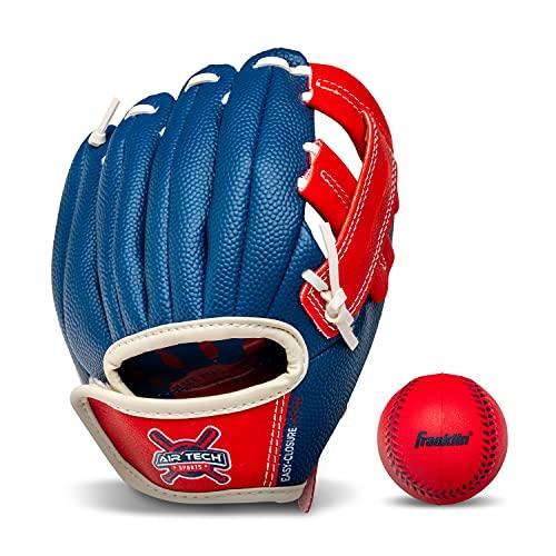 Franklin Sports Kids Baseball Glove - Air Tech Youth Tball Glove - Toddler + Youth Teeball, Baseball...