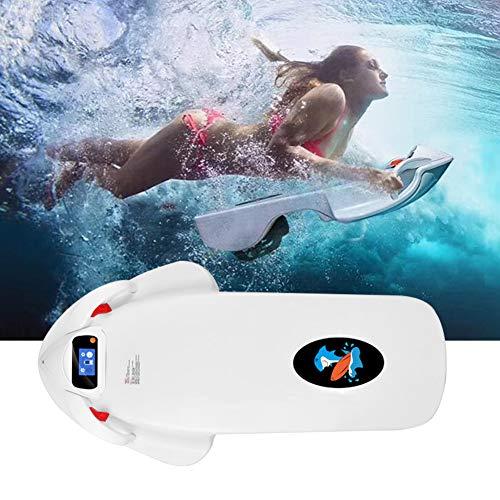 IJNUHB Tabla De Surf Eléctrica Propulsor Acuático para Buceo 3200 W hasta 15 Km/H Tabla De Surf Inteligente con Paleta Apta para Adolescentes En El Parque Acuático