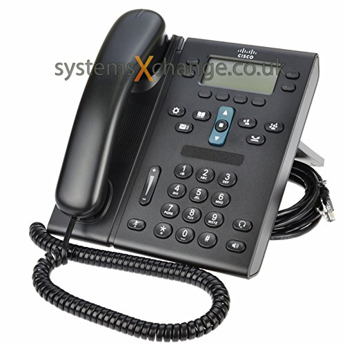 Cisco Unified IP PoE Office Phone 6941 (CP-6941-C-K9) (Renewed)