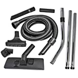 <span class='highlight'><span class='highlight'>SPARES2GO</span></span> Complete (1.8m / 32mm) Hoover Hose Tool Brush Kit for Numatic Henry, James, Edward & Basil Vacuum Cleaners