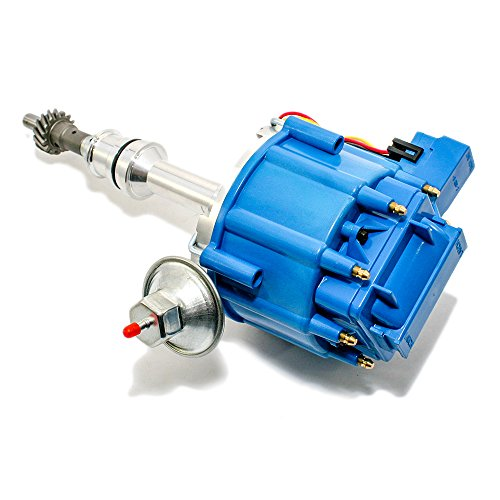 Assault Racing Products 1046013 for Ford One Wire HEI Conversion Blue Distributor Complete w/Coil 351C 351M 400 429 460