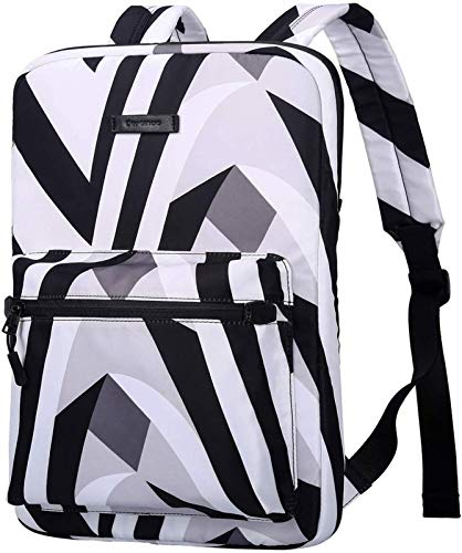 Tablet Cases for MacBook Touchbar 15 Pro 13.3 14 15 Inch, Canvas Lightweight Laptop Bag,Fashion Laptop Backpacks, Chromebook Laptop Bag for MacBook Touchbar ( Color : Zebra , Size : 13.3-15.4 inch )