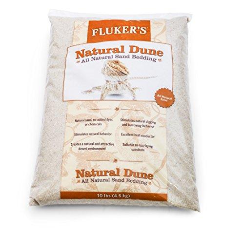 Flukers Naturel Dune Reptile Sable, 4,5 Kilogram