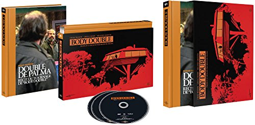 Body Double BD, 2, 1 200 Pages, Inclus 50 Photos inedites (Restauration 4K) [Édition Coffret Ultra Collector-Blu-Ray + DVD + Livre]