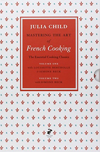 Mastering the Art of French Cooking Volumes 1 & 2.