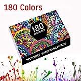150/180 colori Set di matite per acquarello Set di matite colorate in legno Kit di pittura Regali per bambini Disegno per adulti Nota Materiale scolastico