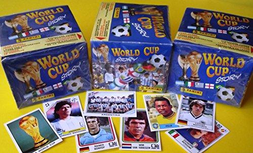 Panini World Cup Story - 3 x Display mit je 50 Tüten original verpackt